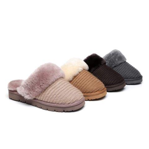 AS UGG Women Sheepskin Wool Slipper Linden AS2017