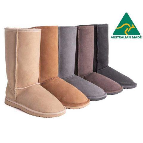 AS Unisex Tall Classic Australian Made Ugg Boots