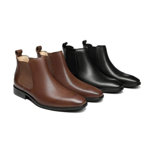 AS Mens Casual Leather Boots Jeremy AS5006