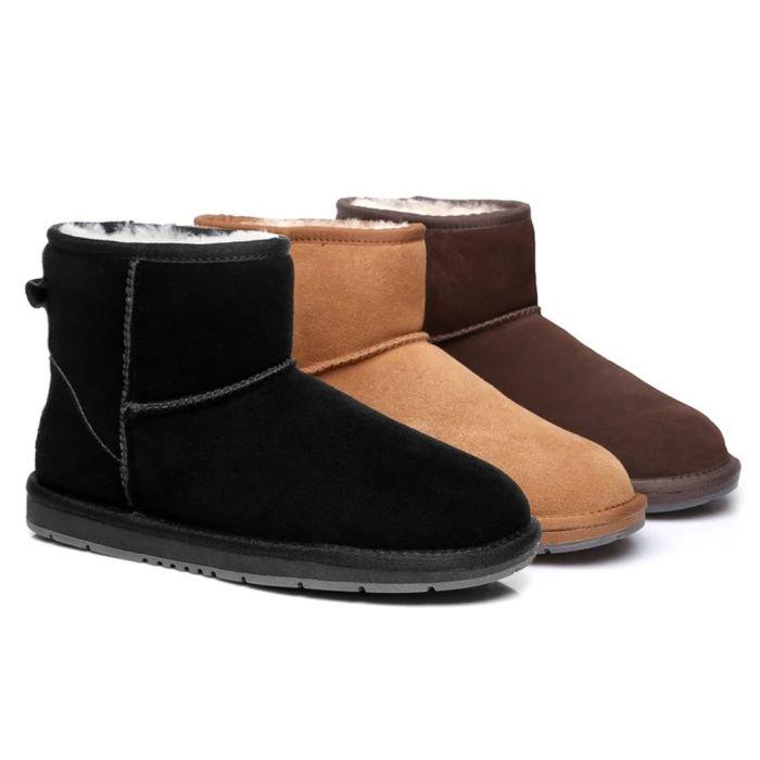 UGG Boots Australian Genuine Sheepskin Unisex Men Women Mini Classic Suede 15710S