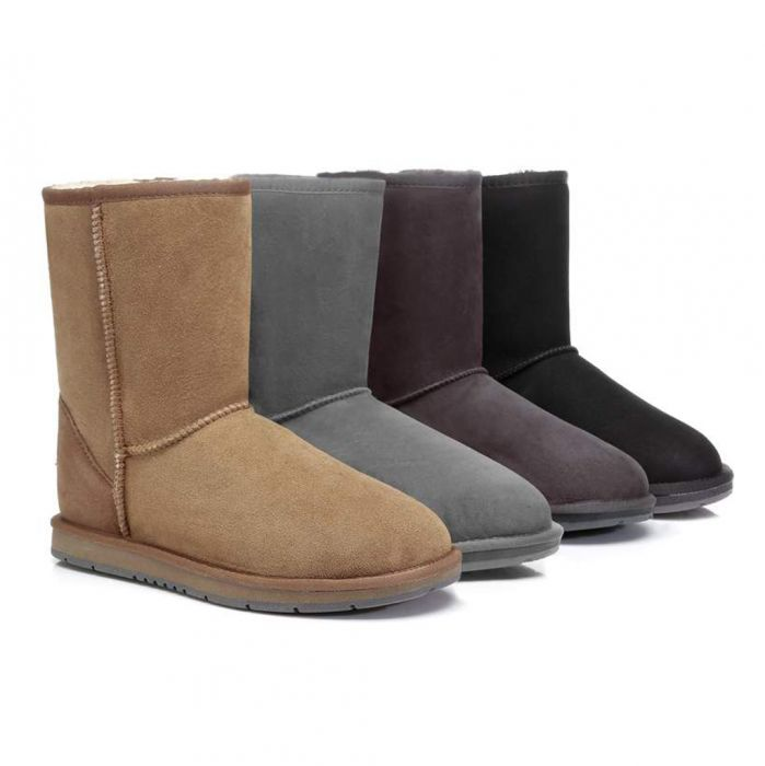 UGG Boots Australia Premium Double Face Sheepskin Unisex Short Classic, Water Resistant