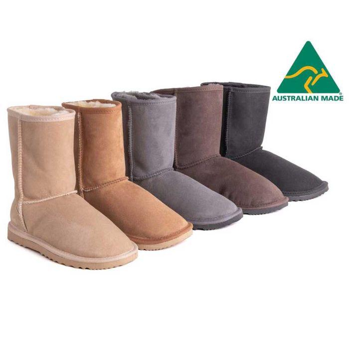 AS Unisex Short Classic Australian Made UGG Boots