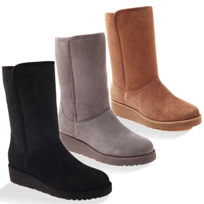 UGG OZWEAR Ladies Mia Classic Slim Boots Water Resistant Doubleface Sheepskin Ob180ii Ob180s