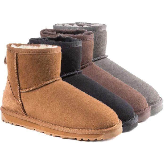 UGG OZWEAR Women Lady Classic Mini Boots Premium Sheepskin Water Resist OB360