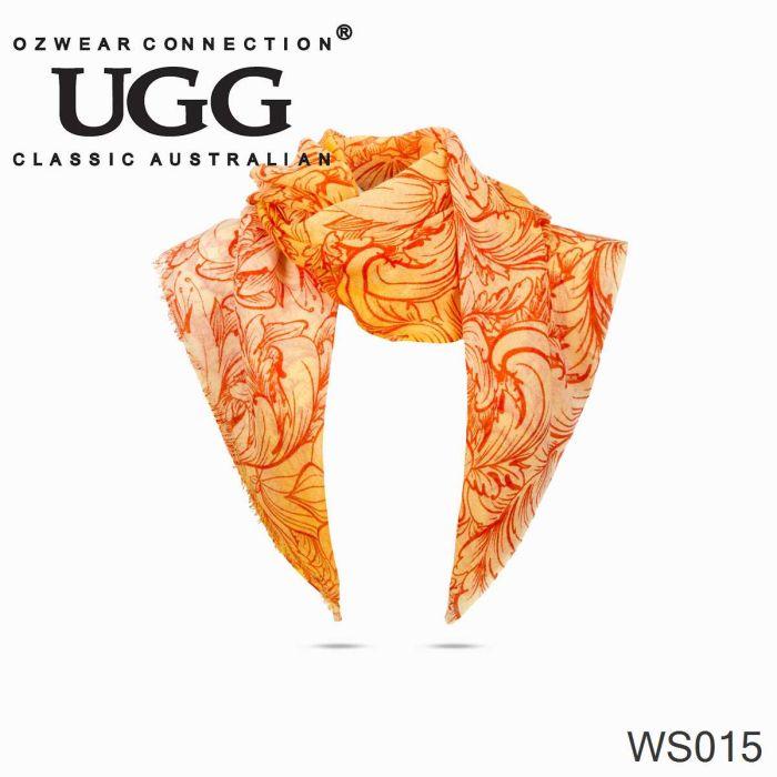 OZWEAR UGG 100% Australia Wool Scarf Wraps- (1900x700mm) WS015